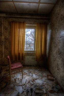 Derelict Interior by Nathan Wright