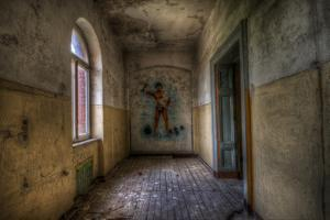 Derelict Room by Nathan Wright