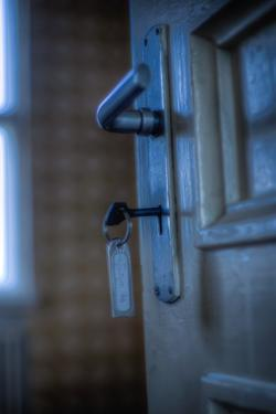 Door Handle and Key by Nathan Wright