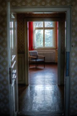 Empty Room with Chair by Nathan Wright