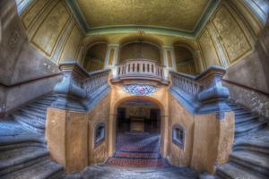 Grand Stairway Interior by Nathan Wright