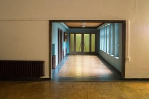 Hallway in Office Building by Nathan Wright