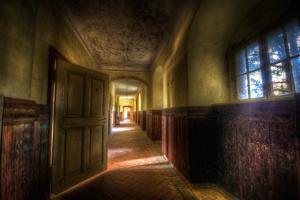 Hallway with Sunlight by Nathan Wright