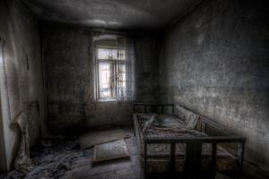 Haunted Interior Bedroom by Nathan Wright