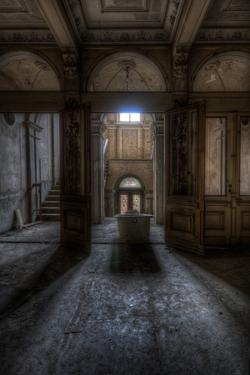 Haunted Interior Hallway by Nathan Wright