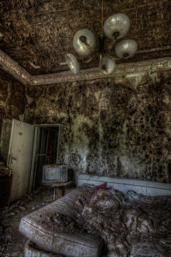 Haunted Interior Room by Nathan Wright