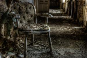 Haunted Interior with Chair by Nathan Wright