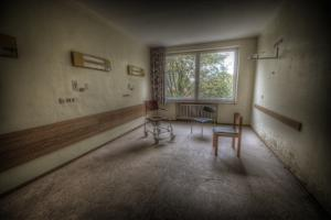 Hospital Room by Nathan Wright