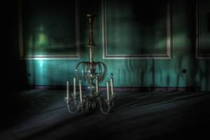 Lighting in Deserted Room by Nathan Wright