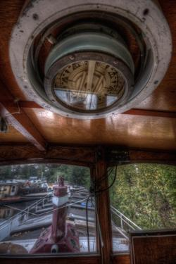 Old Barge with Compass by Nathan Wright