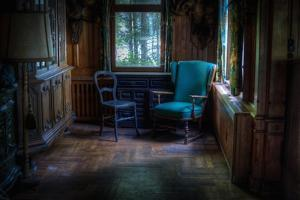 Old Chairs in Room by Nathan Wright