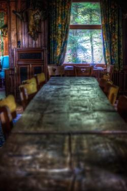 Old Dining Table by Nathan Wright