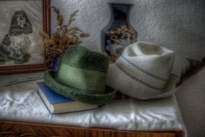 Old Hats by Nathan Wright