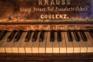 Old Piano by Nathan Wright