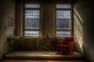 Old Room Interior with Chair by Nathan Wright