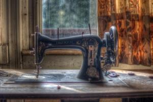 Old Sewing Machine by Nathan Wright