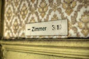Old Sign Zimmer by Nathan Wright