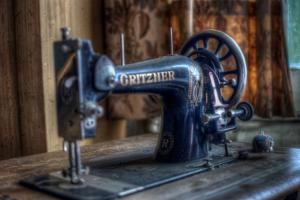 Old Sowing Machine by Nathan Wright