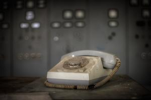 Old Telephone by Nathan Wright