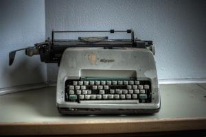 Old Typewriter by Nathan Wright