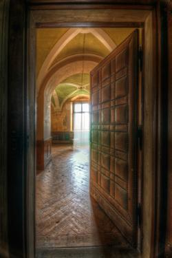 Studded Door by Nathan Wright