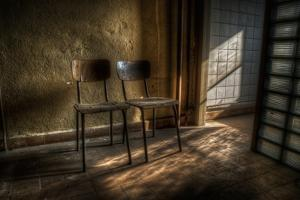Two Old Seats by Nathan Wright