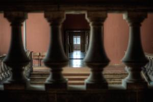 View Through Balustrade by Nathan Wright
