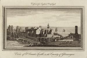 St Donats Castle by Nathaniel and Samuel Buck