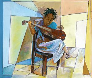 Little Musician II by Nathaniel Barnes