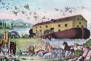 Noah's Ark, 19th Century by Nathaniel Currier
