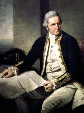 James Cook, English Explorer, Navigator and Hydrographer, 1775-1776 by Nathaniel Dance-Holland