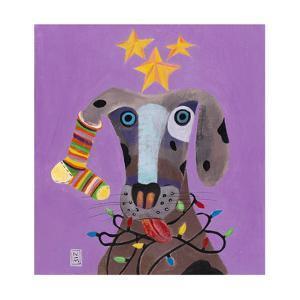 Christmas Dog by Nathaniel Mather