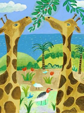 Giraffes by Nathaniel Mather