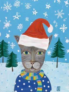 Holiday Cat by Nathaniel Mather