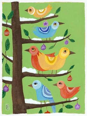 Six Christmas Birds by Nathaniel Mather