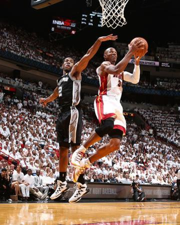 2014 NBA Finals Game Three: Jun 10, Miami Heat vs San Antonio Spurs - Ray Allen by Nathaniel S. Butler