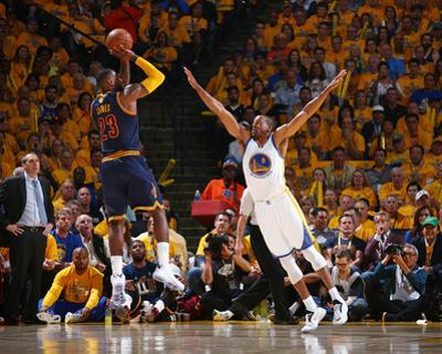 2015 NBA Finals - Game One by Nathaniel S Butler
