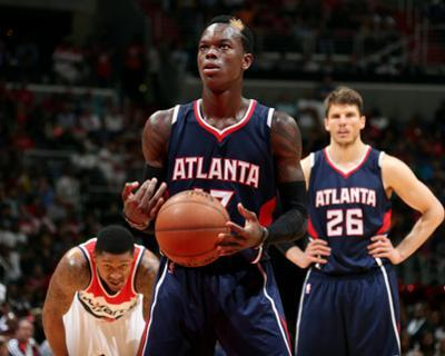 Atlanta Hawks v Washington Wizards - Game Four by Nathaniel S Butler