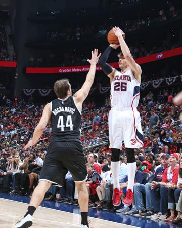 Brooklyn Nets v Atlanta Hawks- Game Two by Nathaniel S Butler