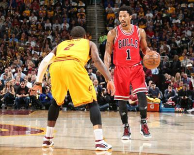 Chicago Bulls v Cleveland Cavaliers - Game Five by Nathaniel S Butler