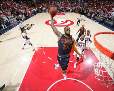 Cleveland Cavaliers v Atlanta Hawks- Game One by Nathaniel S Butler