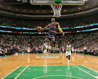 Cleveland Cavaliers v Boston Celtics - Game Three by Nathaniel S Butler