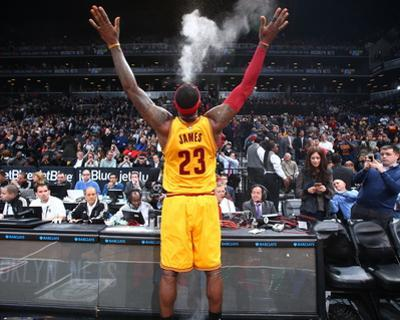 Cleveland Cavaliers v Brooklyn Nets by Nathaniel S. Butler