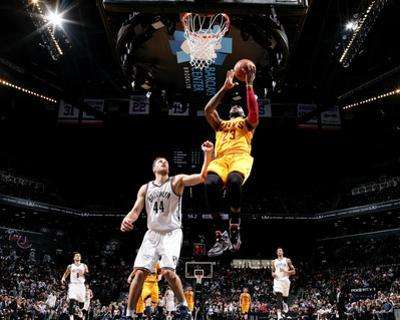 Cleveland Cavaliers v Brooklyn Nets by Nathaniel S Butler