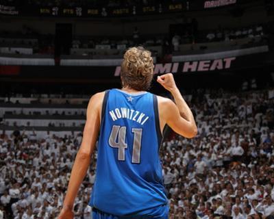 Dallas Mavericks v Miami Heat - Game Two, Miami, FL - JUNE 02: Dirk Nowitzki by Nathaniel S. Butler
