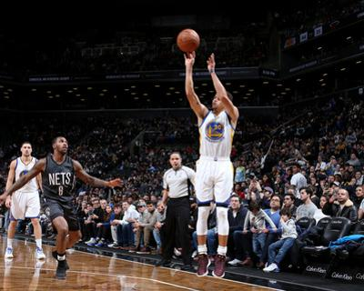 Golden State Warriors v Brooklyn Nets by Nathaniel S Butler