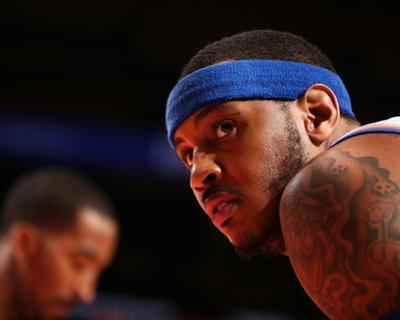 Jan 30, 2014, Clevseland Cavsaliers vs New York Knicks - Carmelo Anthony by Nathaniel S. Butler
