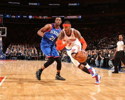 Mar 10, 2014, Philadephia 76ers vs New York Knicks - Carmelo Anthony by Nathaniel S. Butler