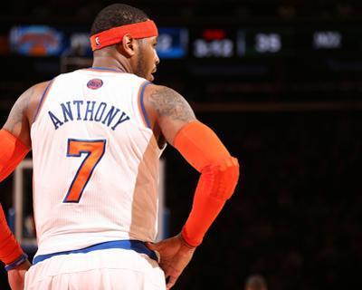 Mar 7, 2014, Utah Jazz vs New York Knicks - Carmelo Anthony by Nathaniel S. Butler