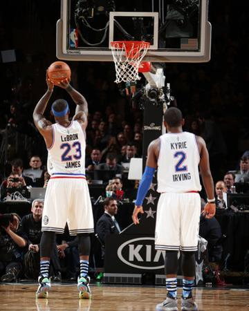 NBA All-Star Game 2015 by Nathaniel S Butler